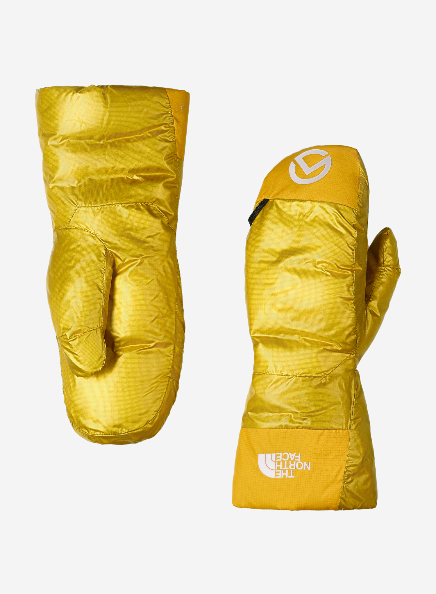 Łapawice The North Face AMK L4 Insulated Down Mitt - canarry/gold - zdjęcie nr. 2