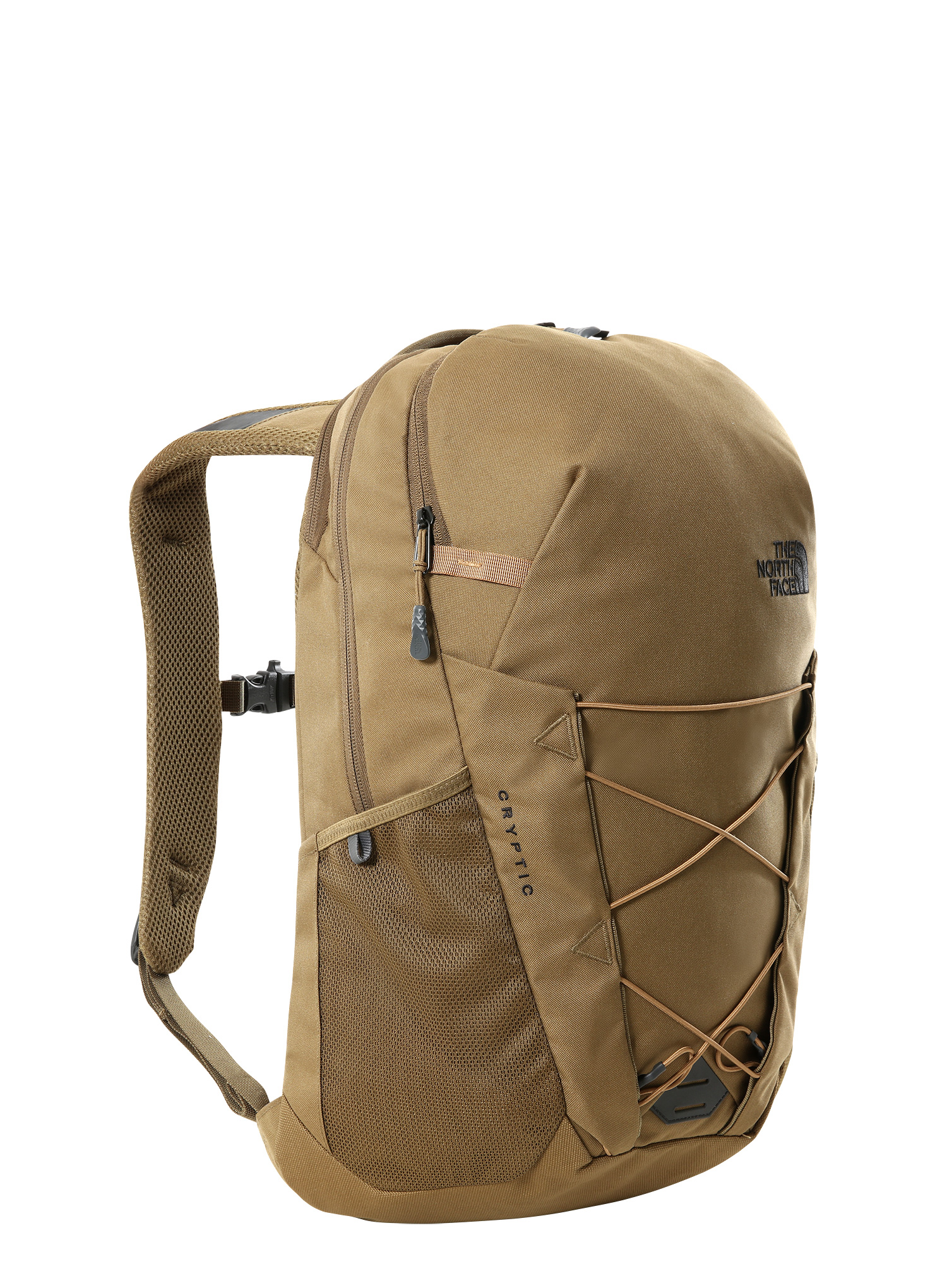 Plecak The North Face Cryptic - military olive/brown - zdjęcie nr. 1