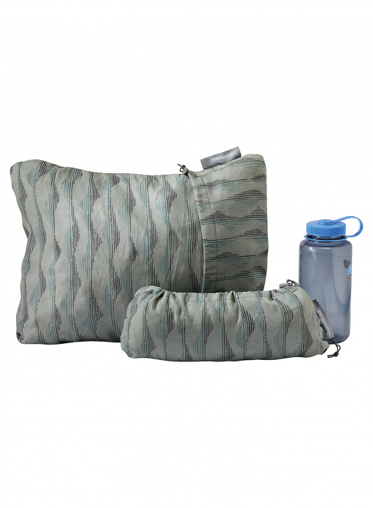 Poduszka Therm a Rest Compressible Pillow - gray mountains - zdjęcie nr. 3