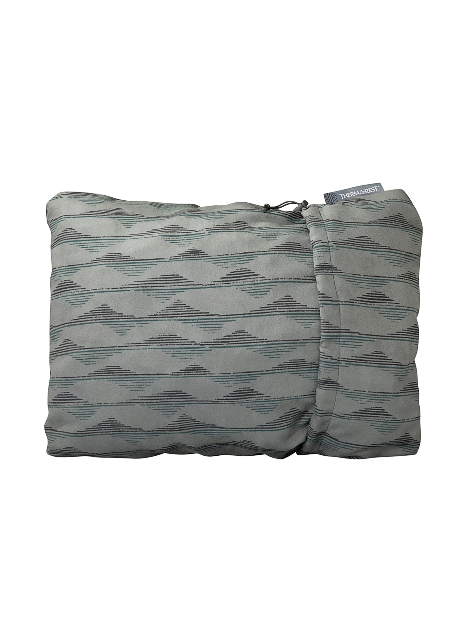 Poduszka Therm a Rest Compressible Pillow - gray mountains - zdjęcie nr. 1