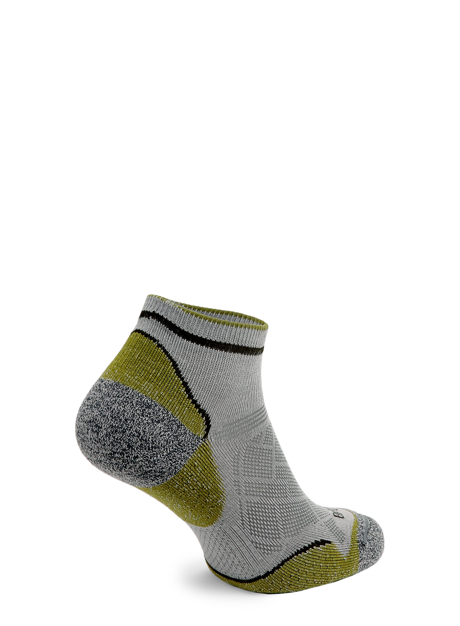 Skarpetki Bridgedale Hike Ultra Lt T2 Coolmax P Low - grey/green - zdjęcie nr. 3