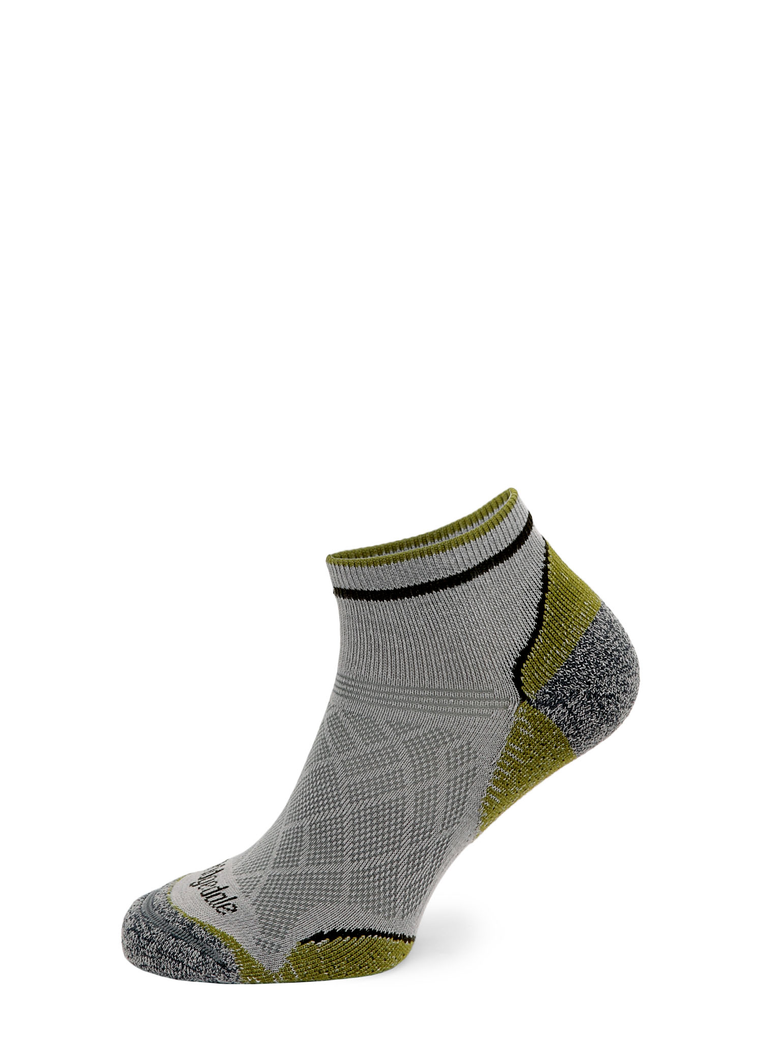 Skarpetki Bridgedale Hike Ultra Lt T2 Coolmax P Low - grey/green - zdjęcie nr. 5