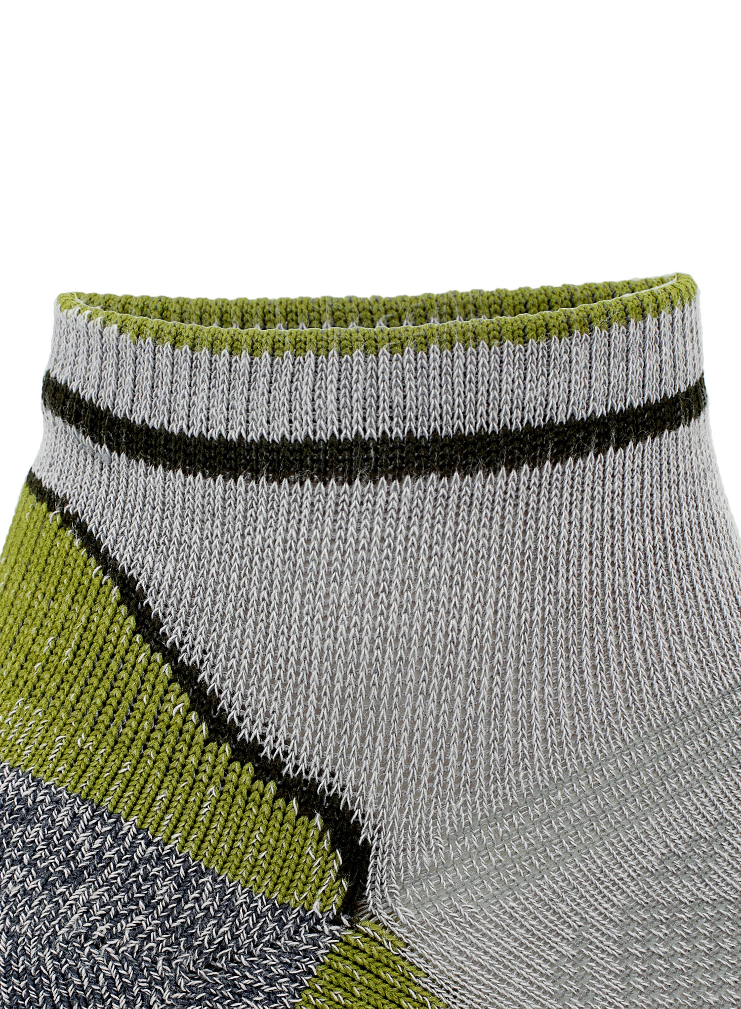 Skarpetki Bridgedale Hike Ultra Lt T2 Coolmax P Low - grey/green - zdjęcie nr. 6