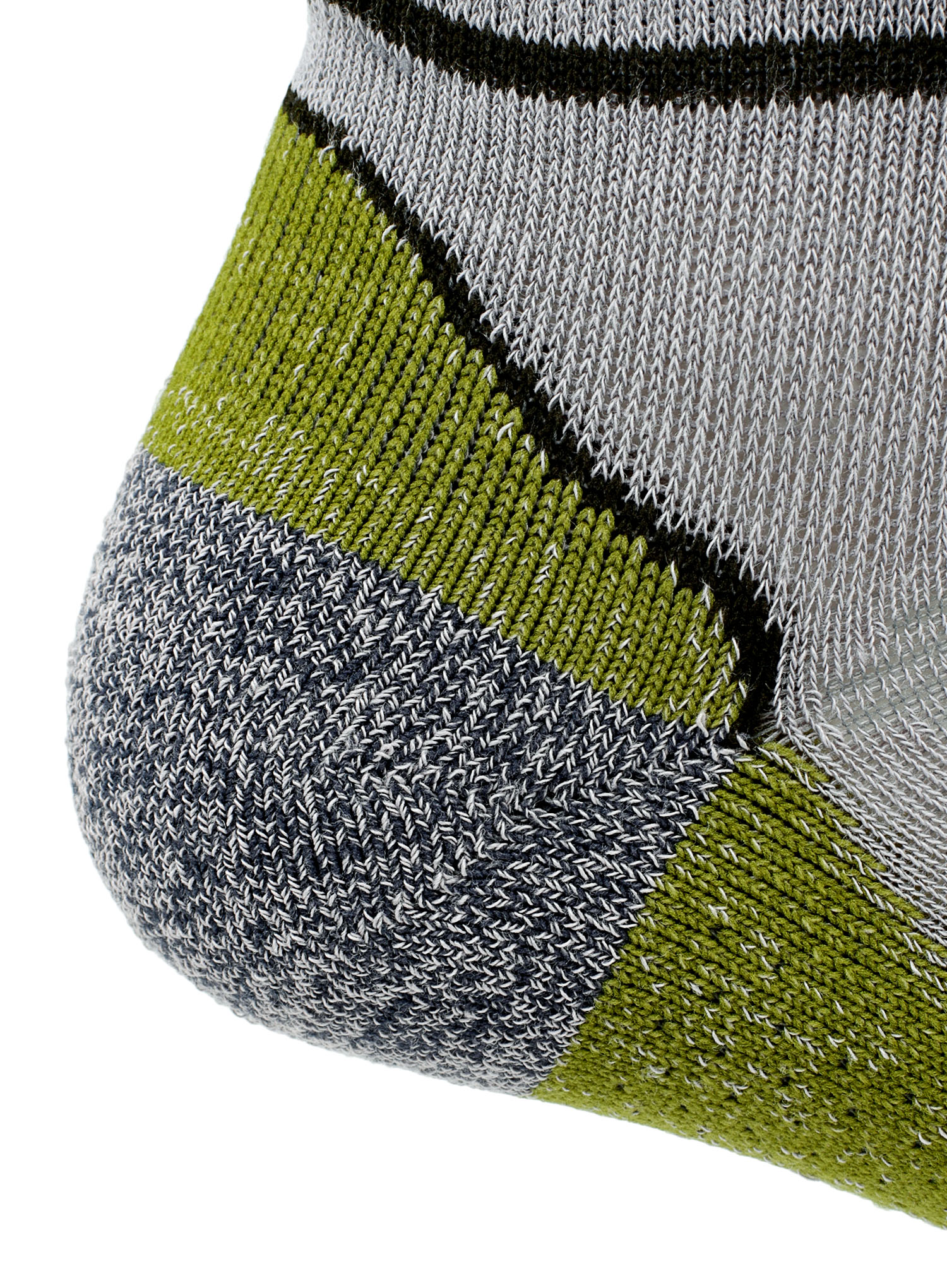 Skarpetki Bridgedale Hike Ultra Lt T2 Coolmax P Low - grey/green - zdjęcie nr. 7