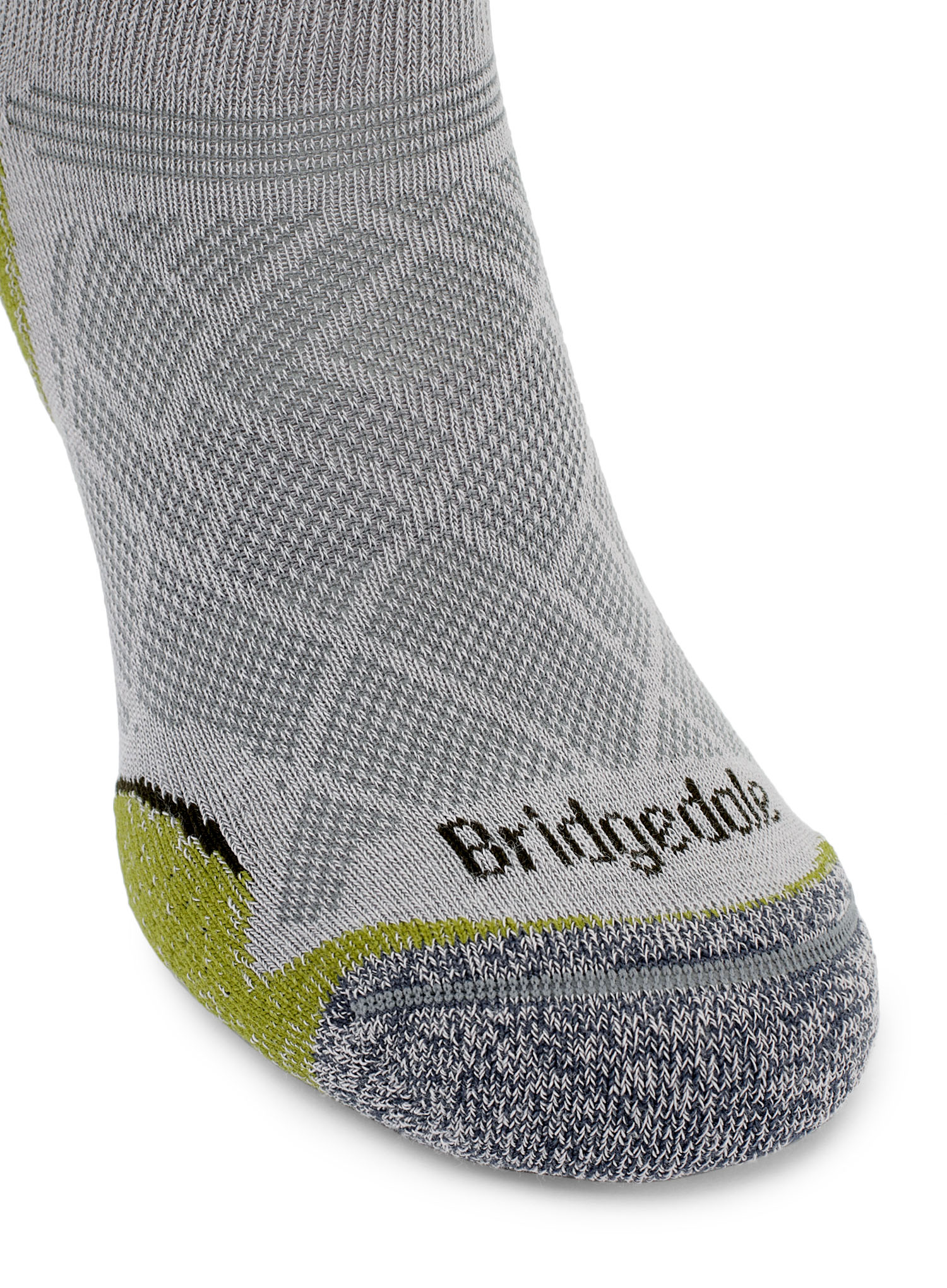 Skarpetki Bridgedale Hike Ultra Lt T2 Coolmax P Low - grey/green - zdjęcie nr. 8