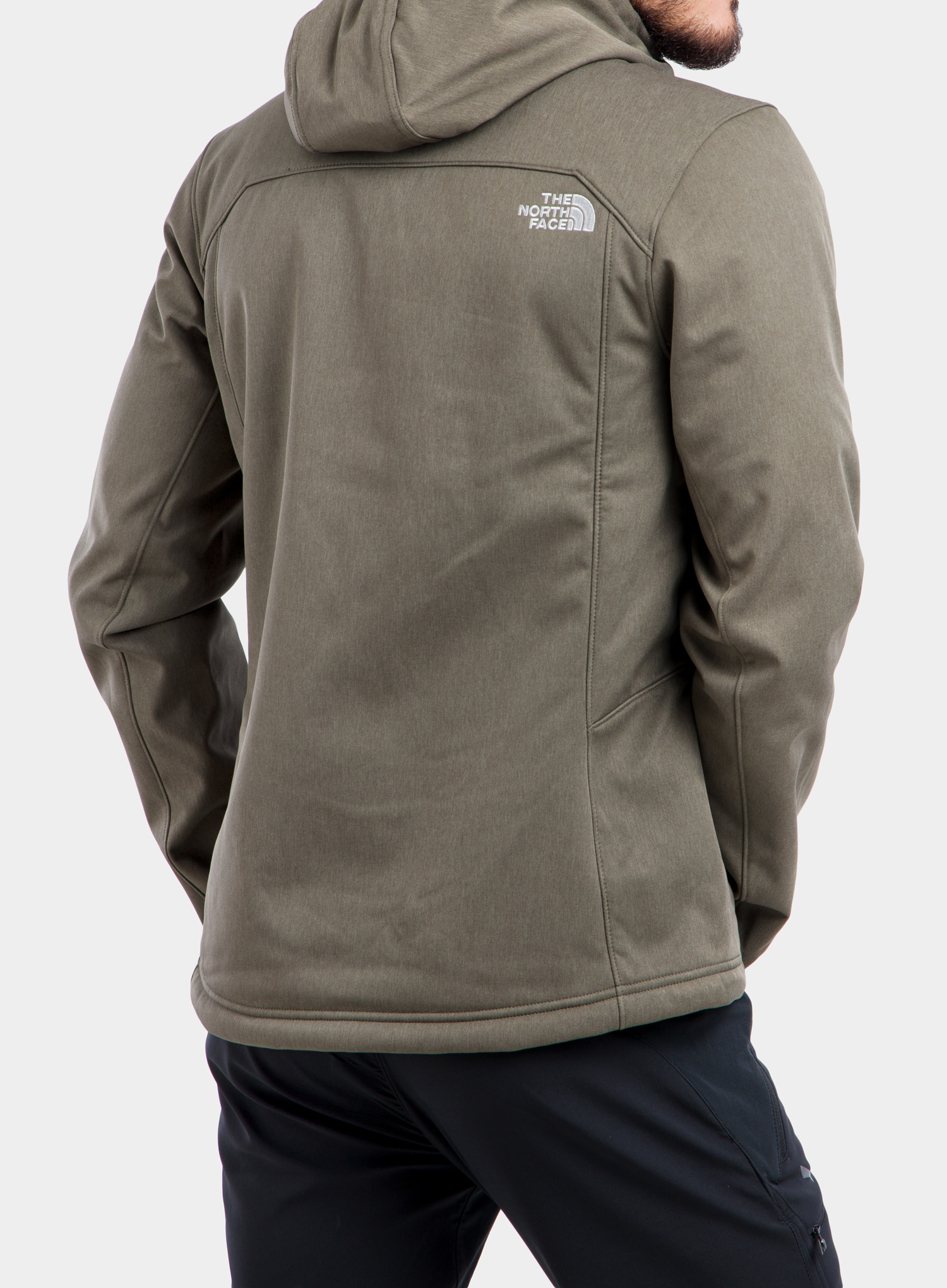 Softshell The North Face Quest Hooded Softshell - new taupe green - zdjęcie nr. 2