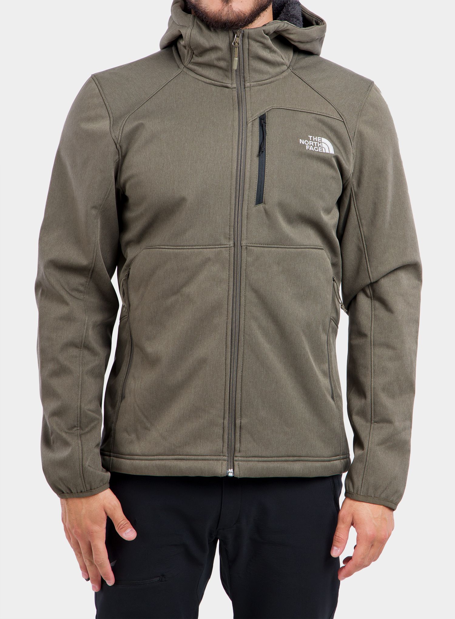 Softshell The North Face Quest Hooded Softshell - new taupe green - zdjęcie nr. 4