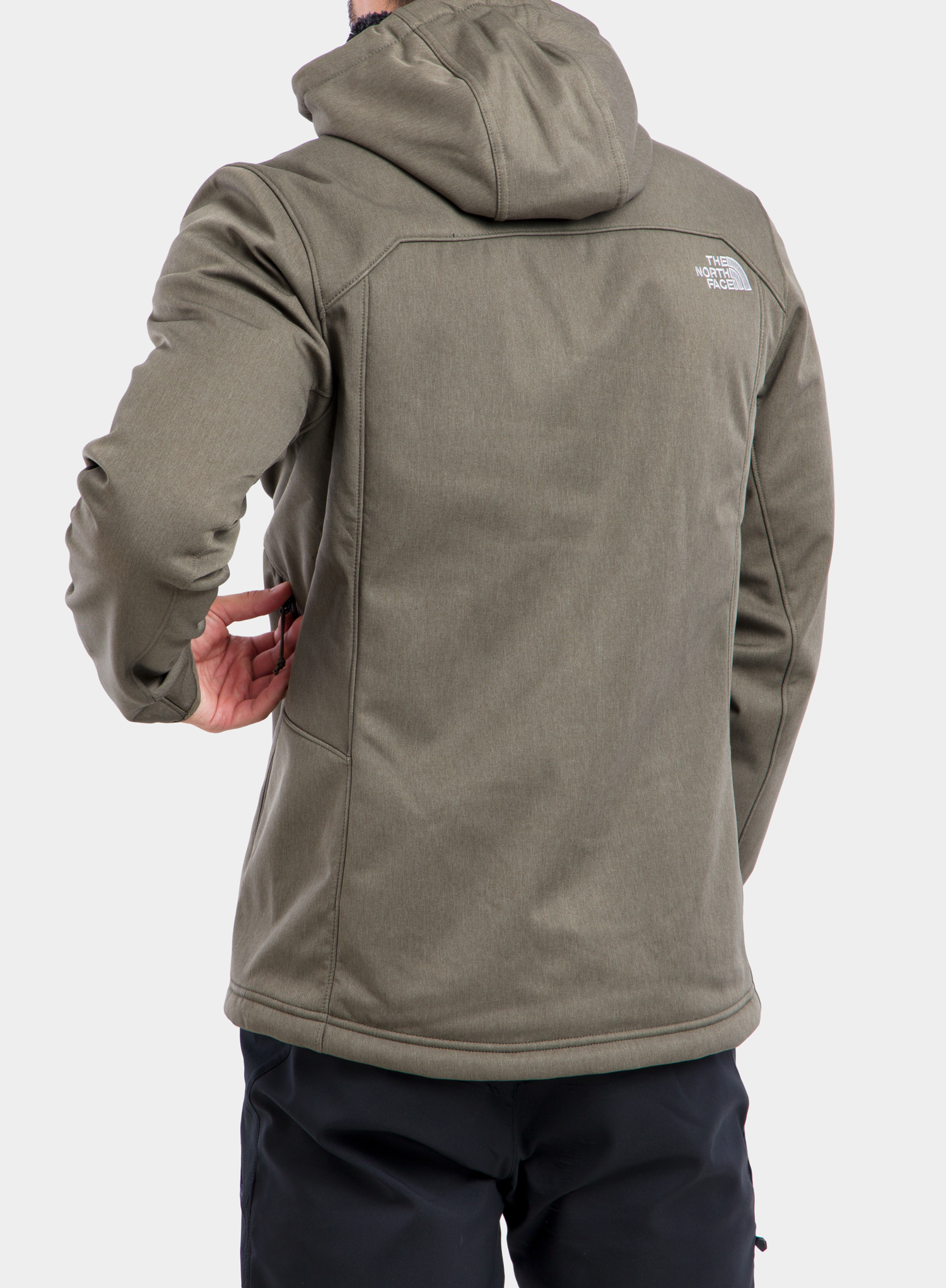 Softshell The North Face Quest Hooded Softshell - new taupe green - zdjęcie nr. 3