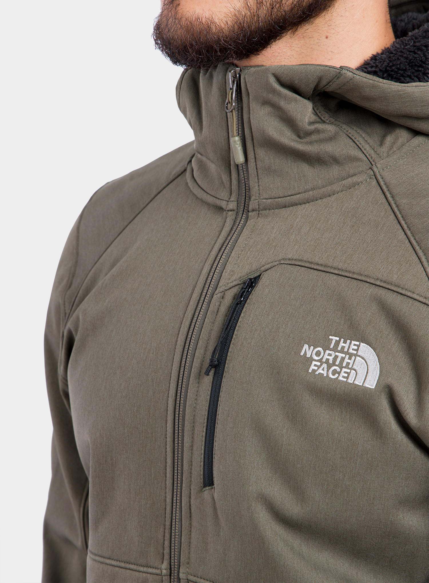 Softshell The North Face Quest Hooded Softshell - new taupe green - zdjęcie nr. 7