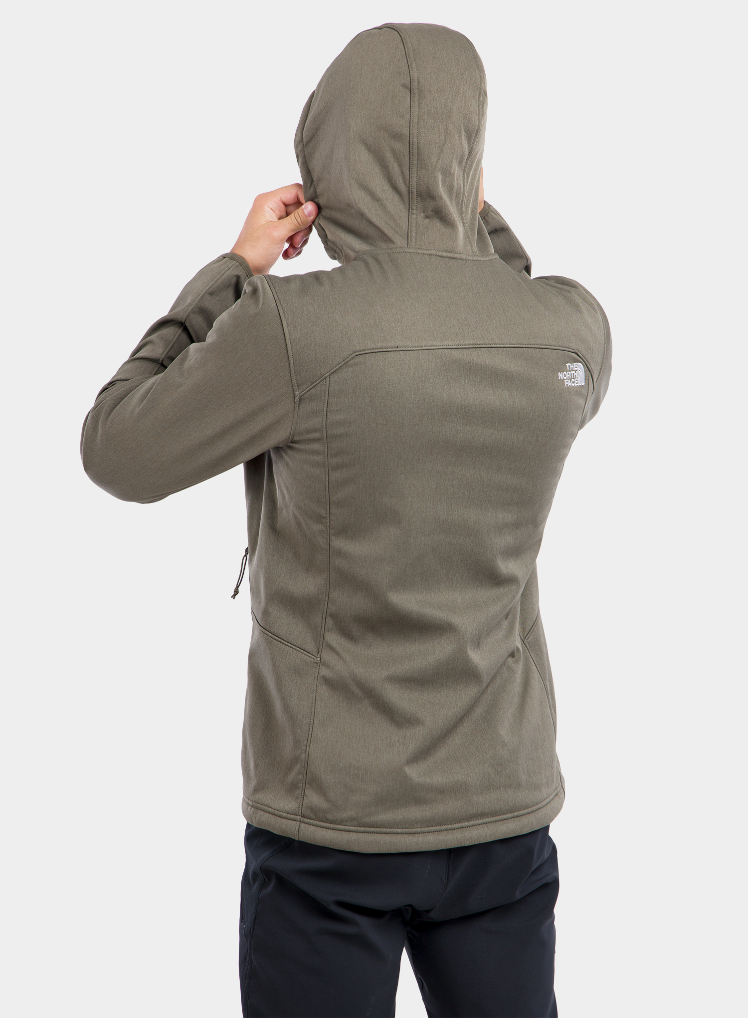 Softshell The North Face Quest Hooded Softshell - new taupe green - zdjęcie nr. 8