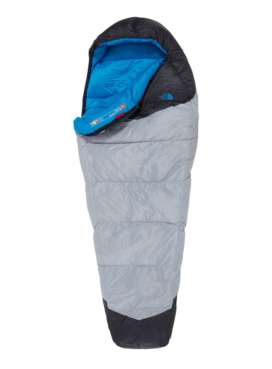 Śpiwór The North Face Blue Kazoo (198 cm) - high rise grey/hyper blue - zdjęcie nr. 1