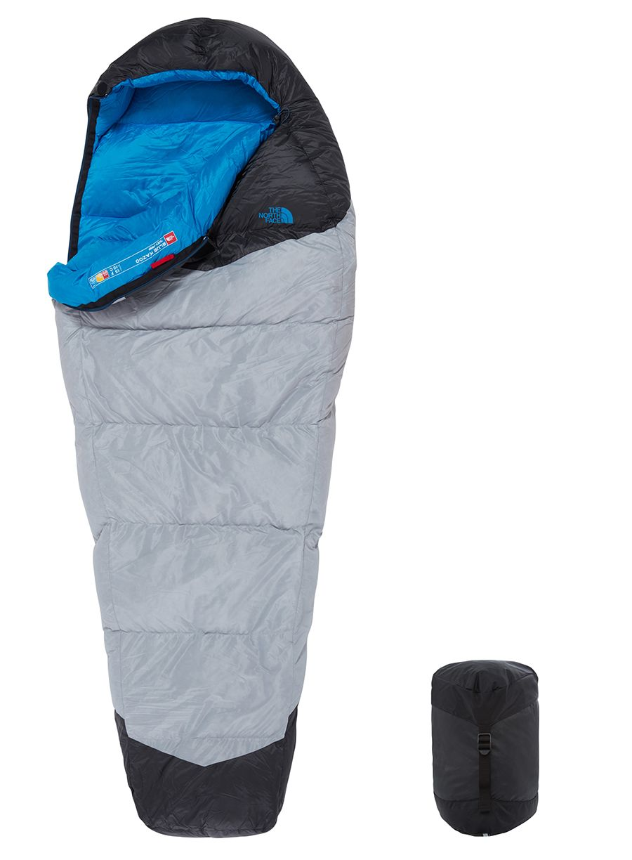 Śpiwór The North Face Blue Kazoo (198 cm) - high rise grey/hyper blue - zdjęcie nr. 2