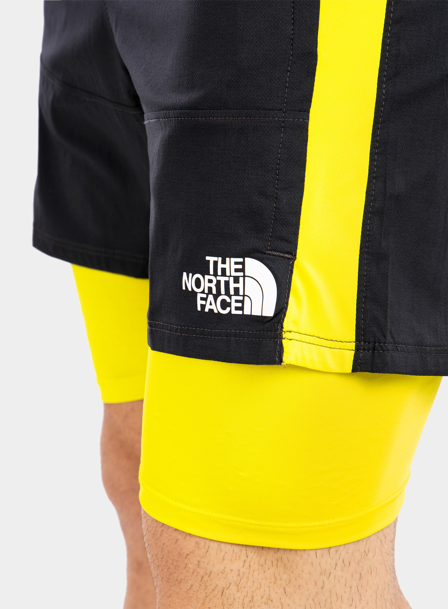 Spodenki The North Face Active Trail Dual Short - grey/sulph - zdjęcie nr. 6