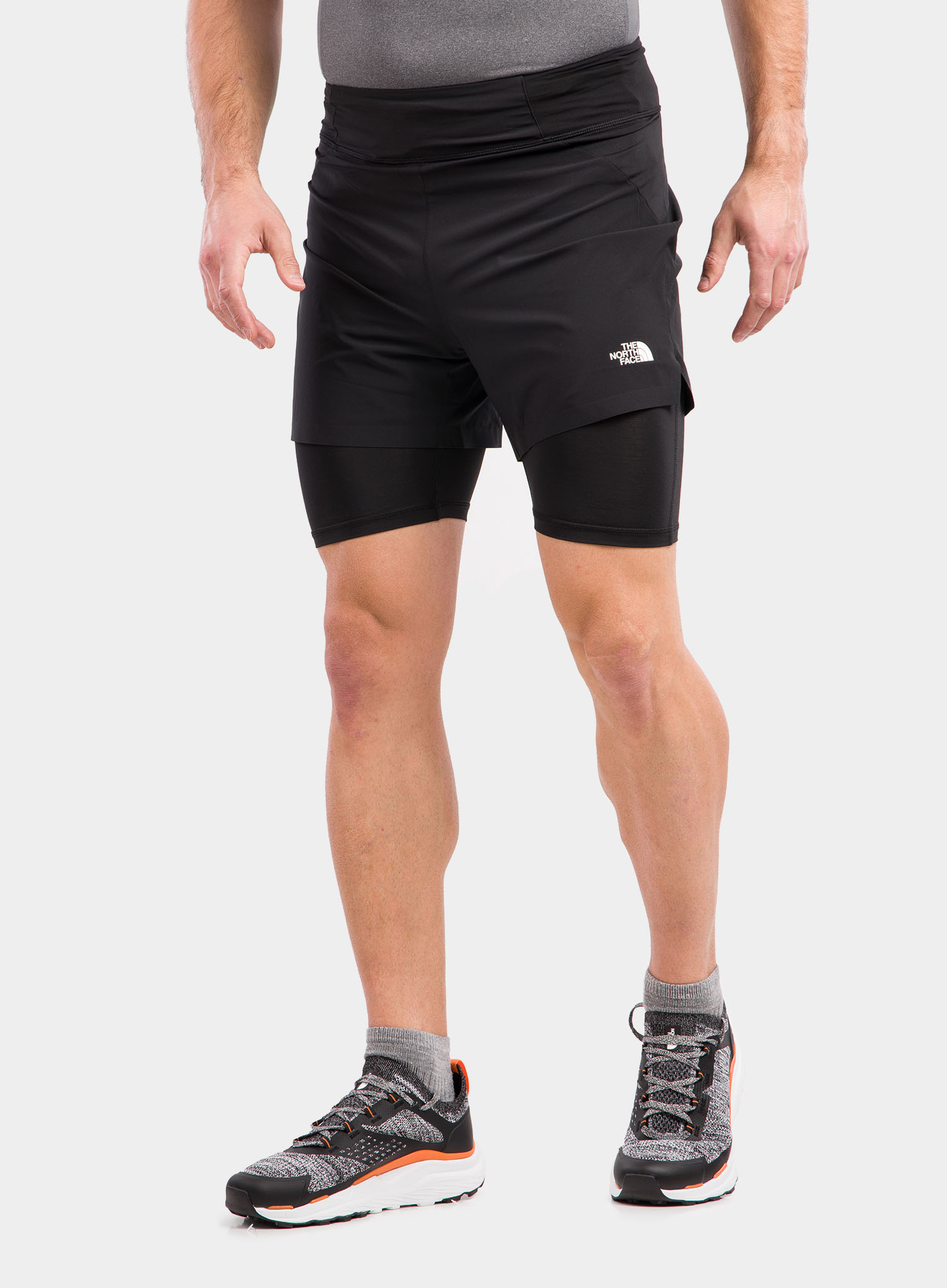 Spodenki The North Face Circadian Comp Lined Short - black - zdjęcie nr. 1
