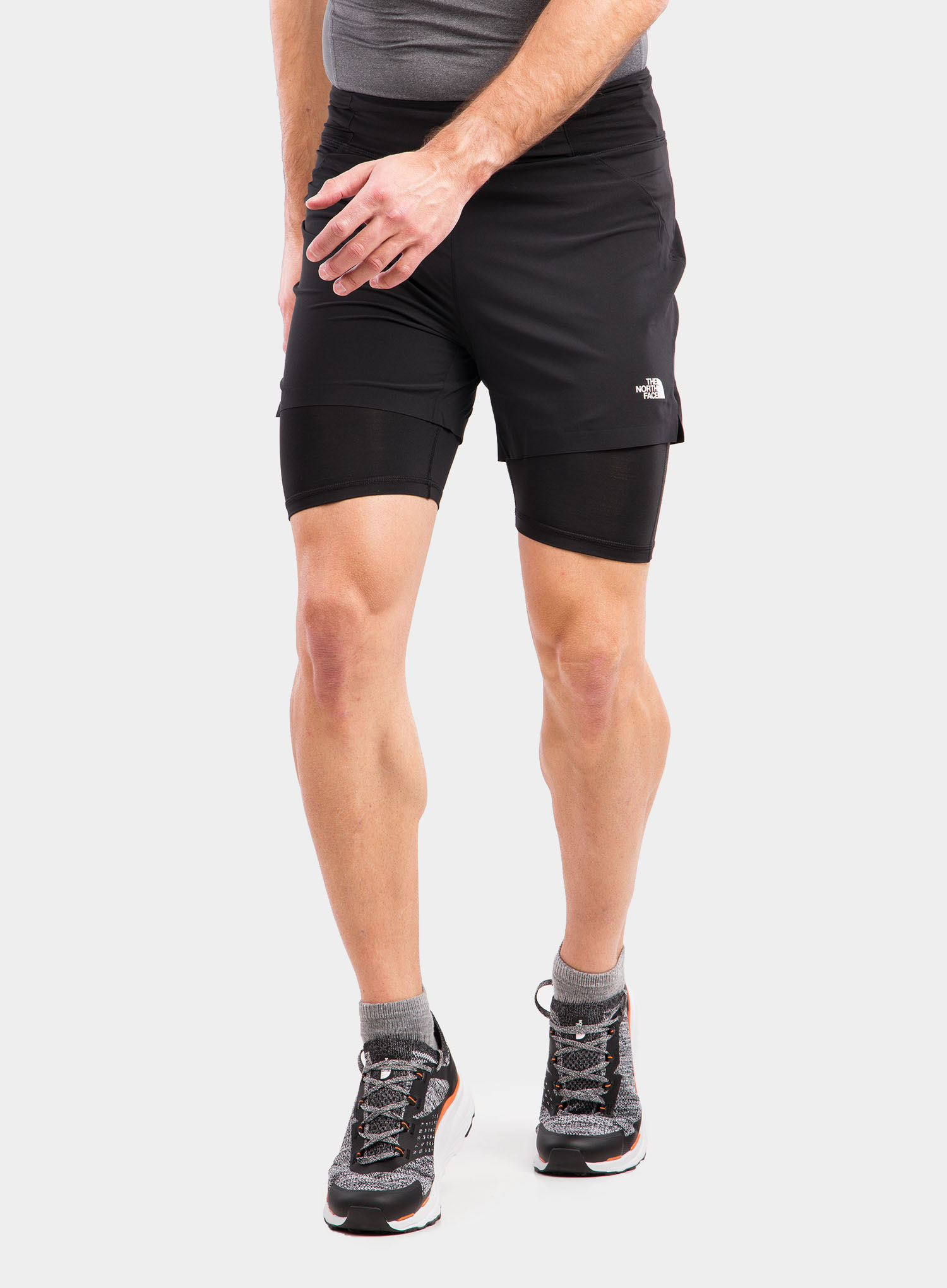 Spodenki The North Face Circadian Comp Lined Short - black - zdjęcie nr. 5