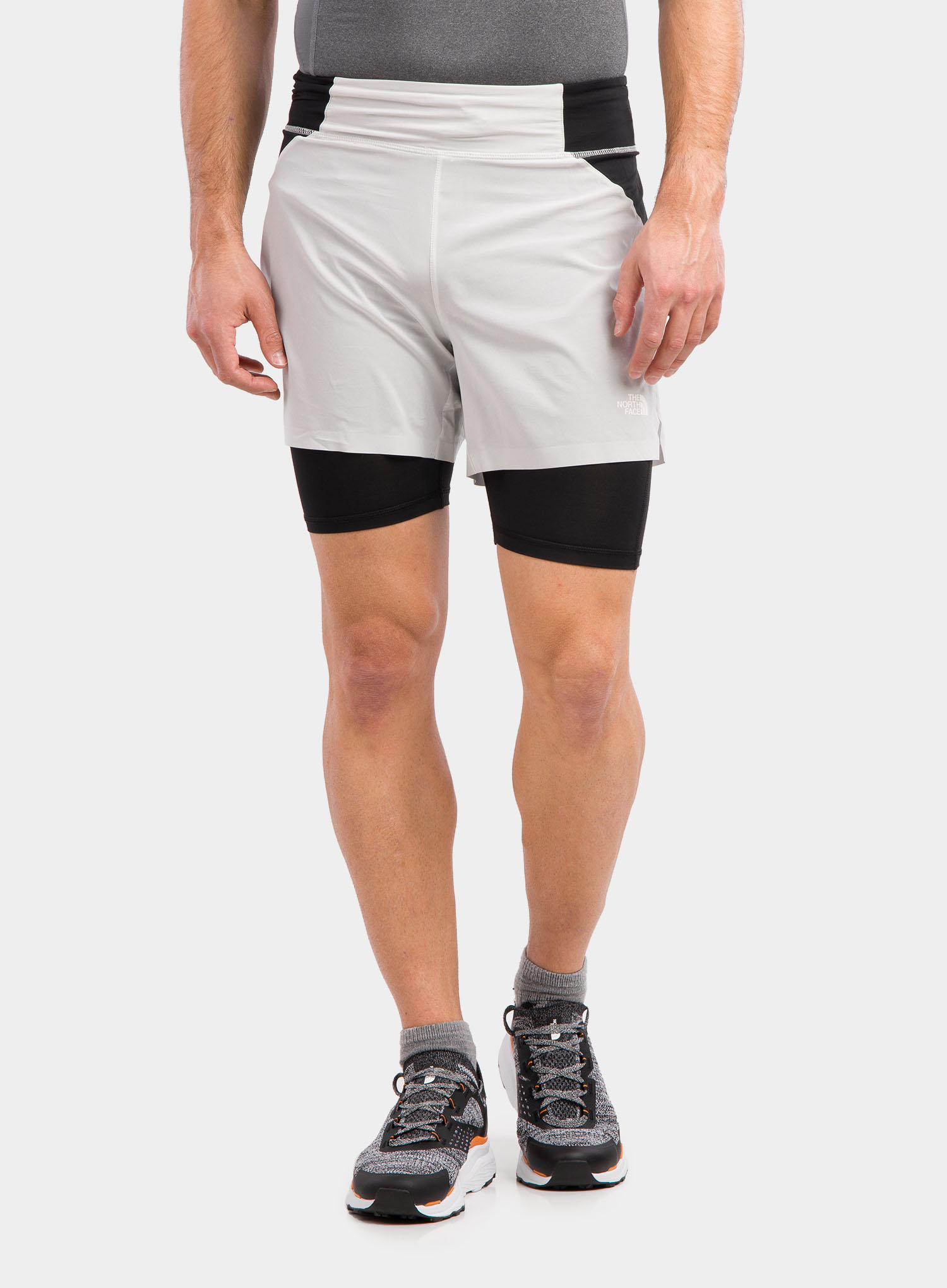Spodenki The North Face Circadian Comp Lined Short - grey/blk - zdjęcie nr. 1