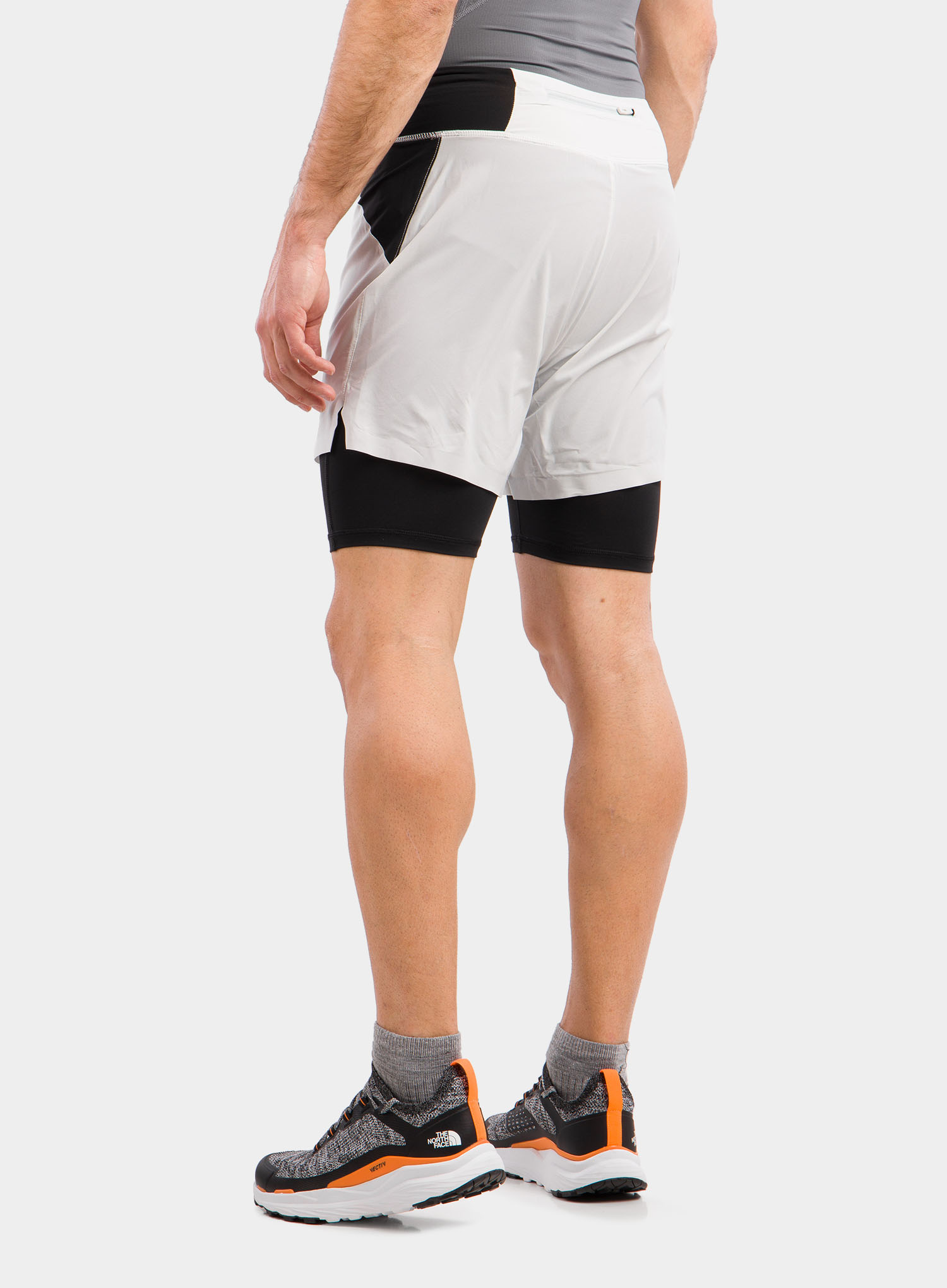 Spodenki The North Face Circadian Comp Lined Short - grey/blk - zdjęcie nr. 2