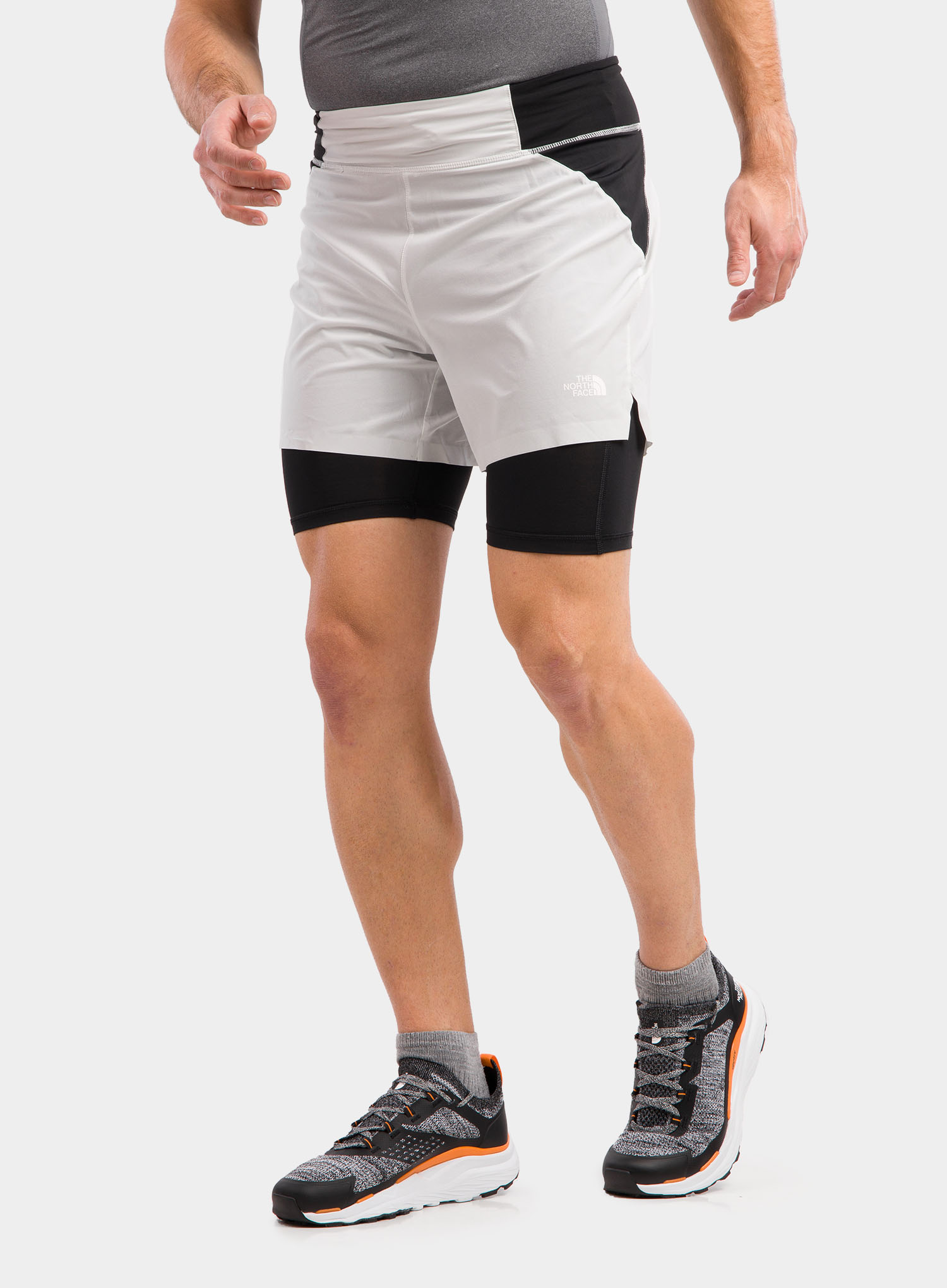 Spodenki The North Face Circadian Comp Lined Short - grey/blk - zdjęcie nr. 5