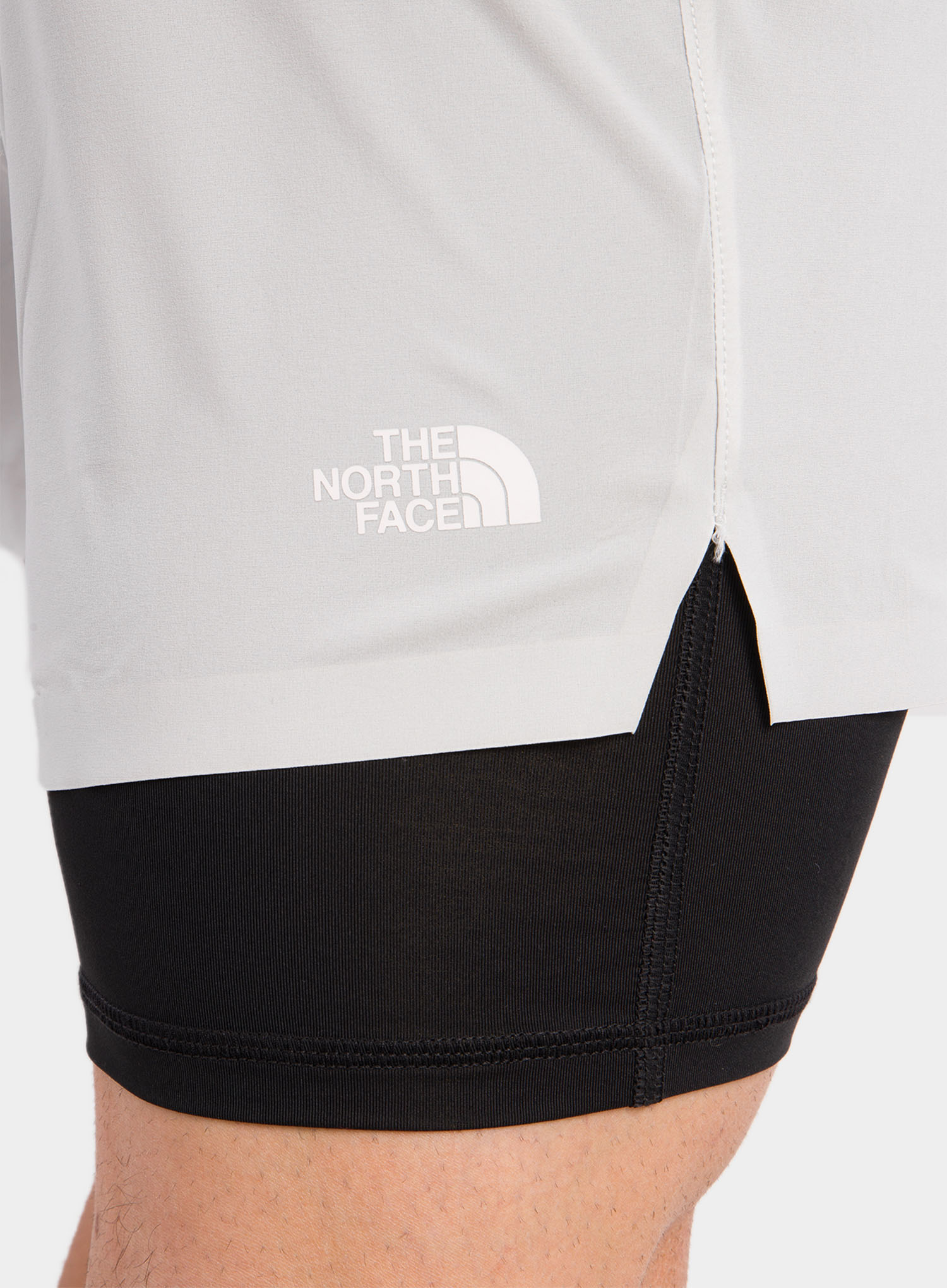 Spodenki The North Face Circadian Comp Lined Short - grey/blk - zdjęcie nr. 6