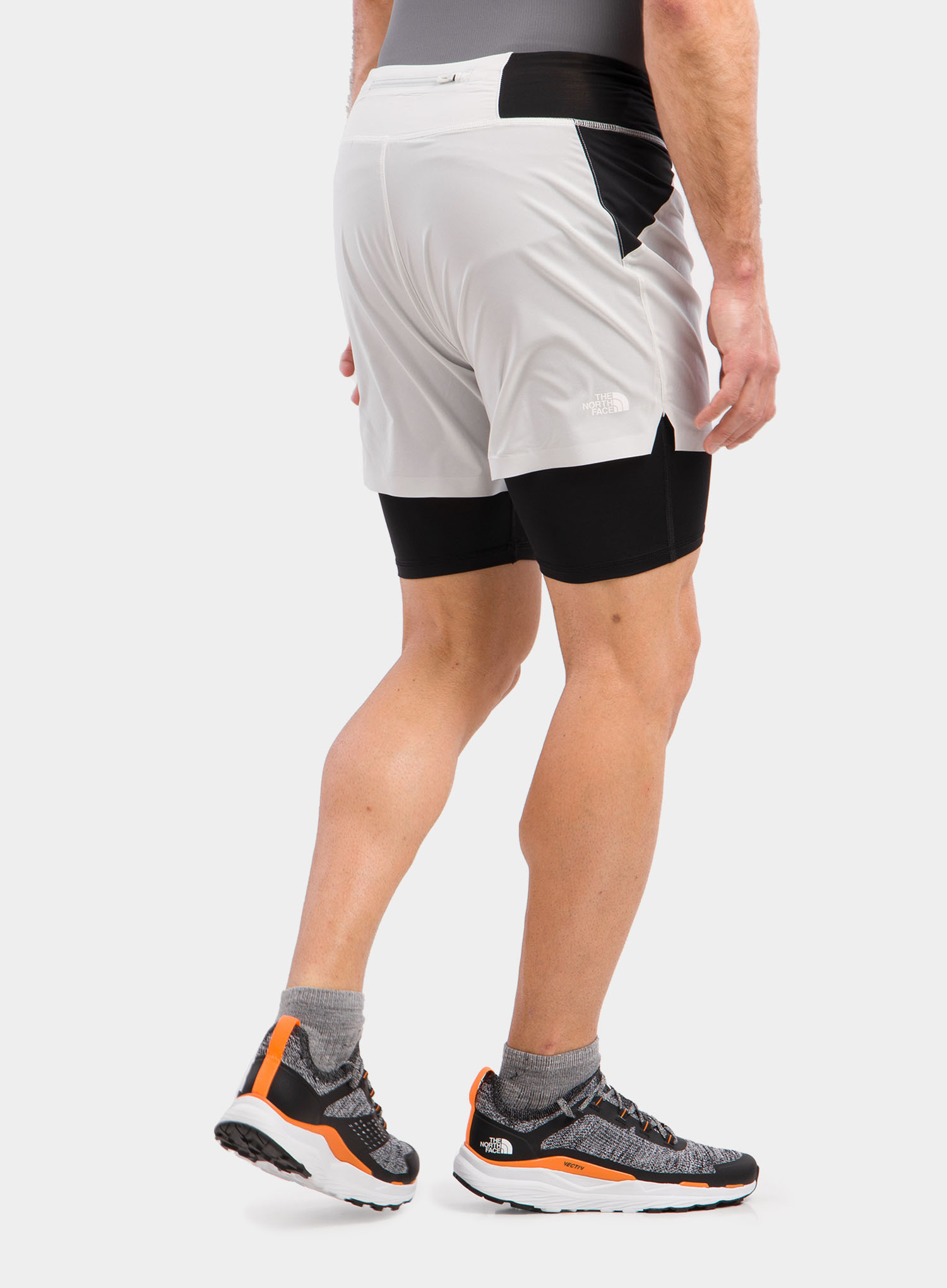 Spodenki The North Face Circadian Comp Lined Short - grey/blk - zdjęcie nr. 7