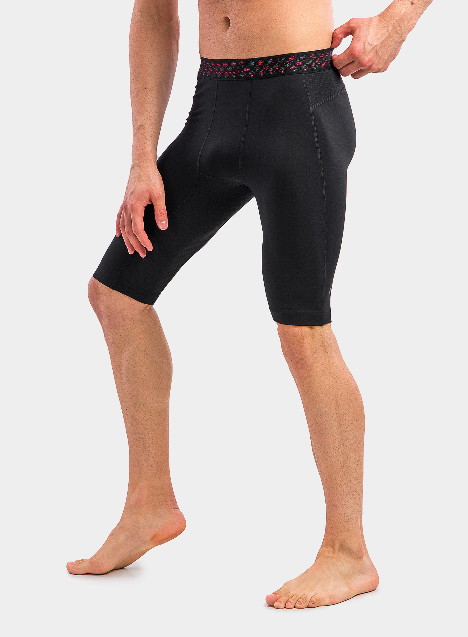 Spodenki Under Armour HG Rush 2.0 Long Shorts - black/black - zdjęcie nr. 9