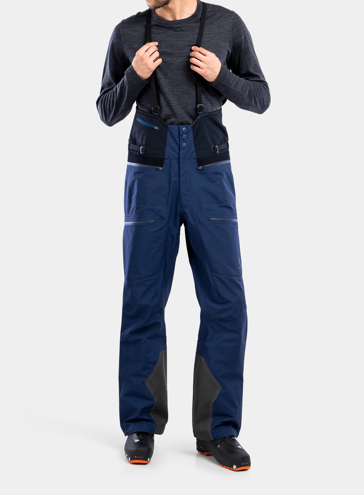 Spodnie GORE-TEX BlackYak Brangus Pants - dress blues - zdjęcie nr. 1