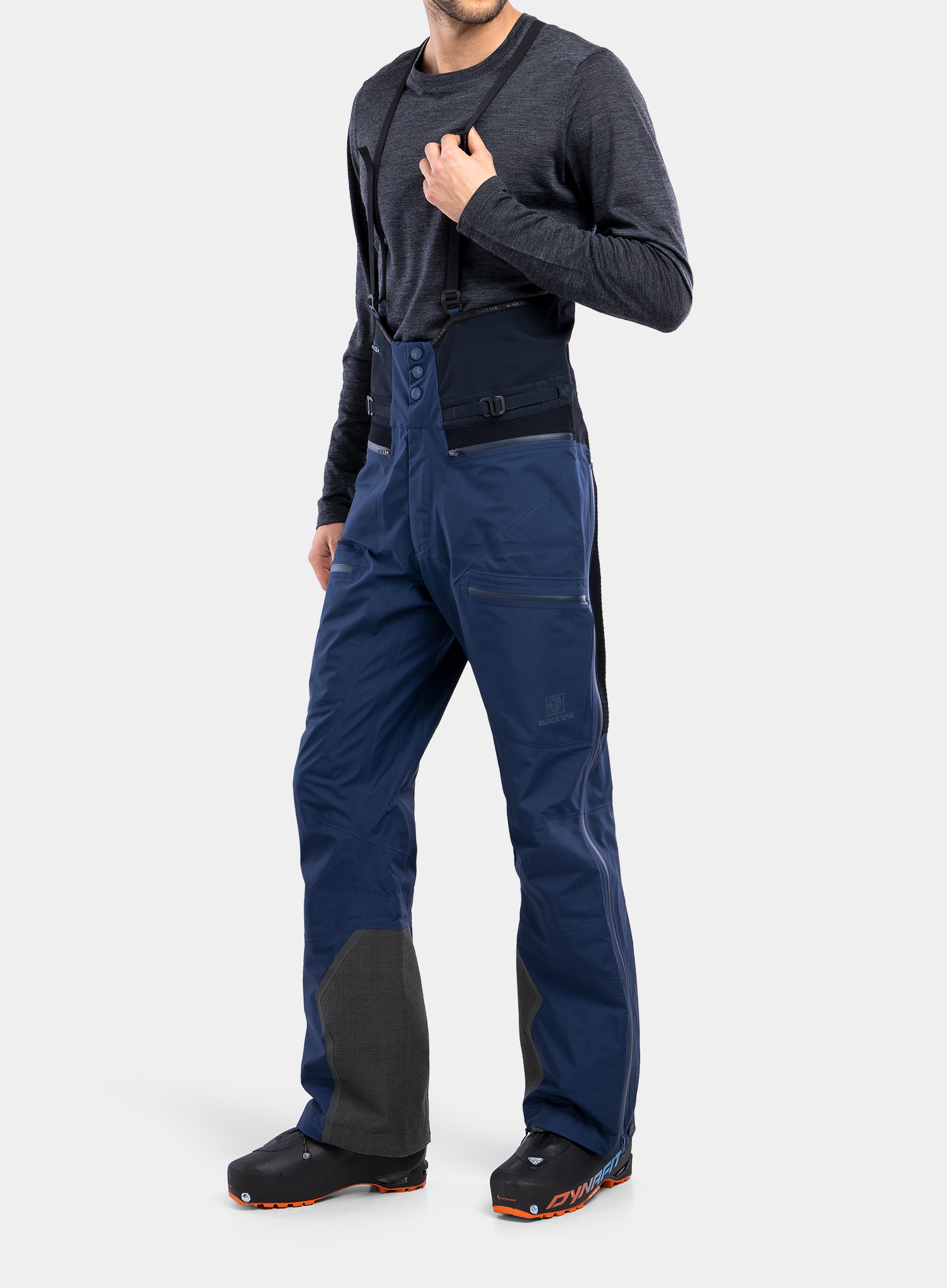 Spodnie GORE-TEX BlackYak Brangus Pants - dress blues - zdjęcie nr. 4
