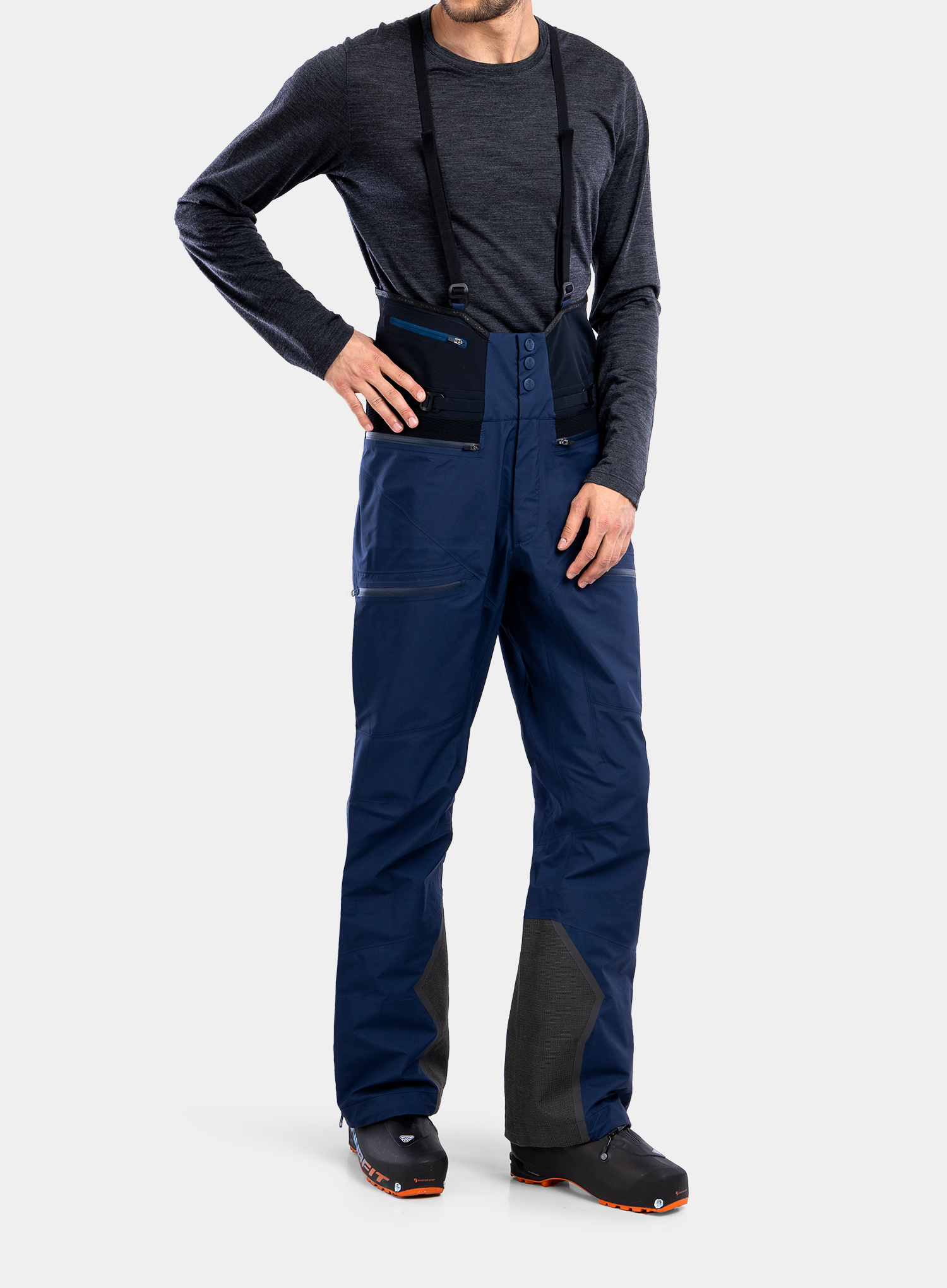 Spodnie GORE-TEX BlackYak Brangus Pants - dress blues - zdjęcie nr. 8