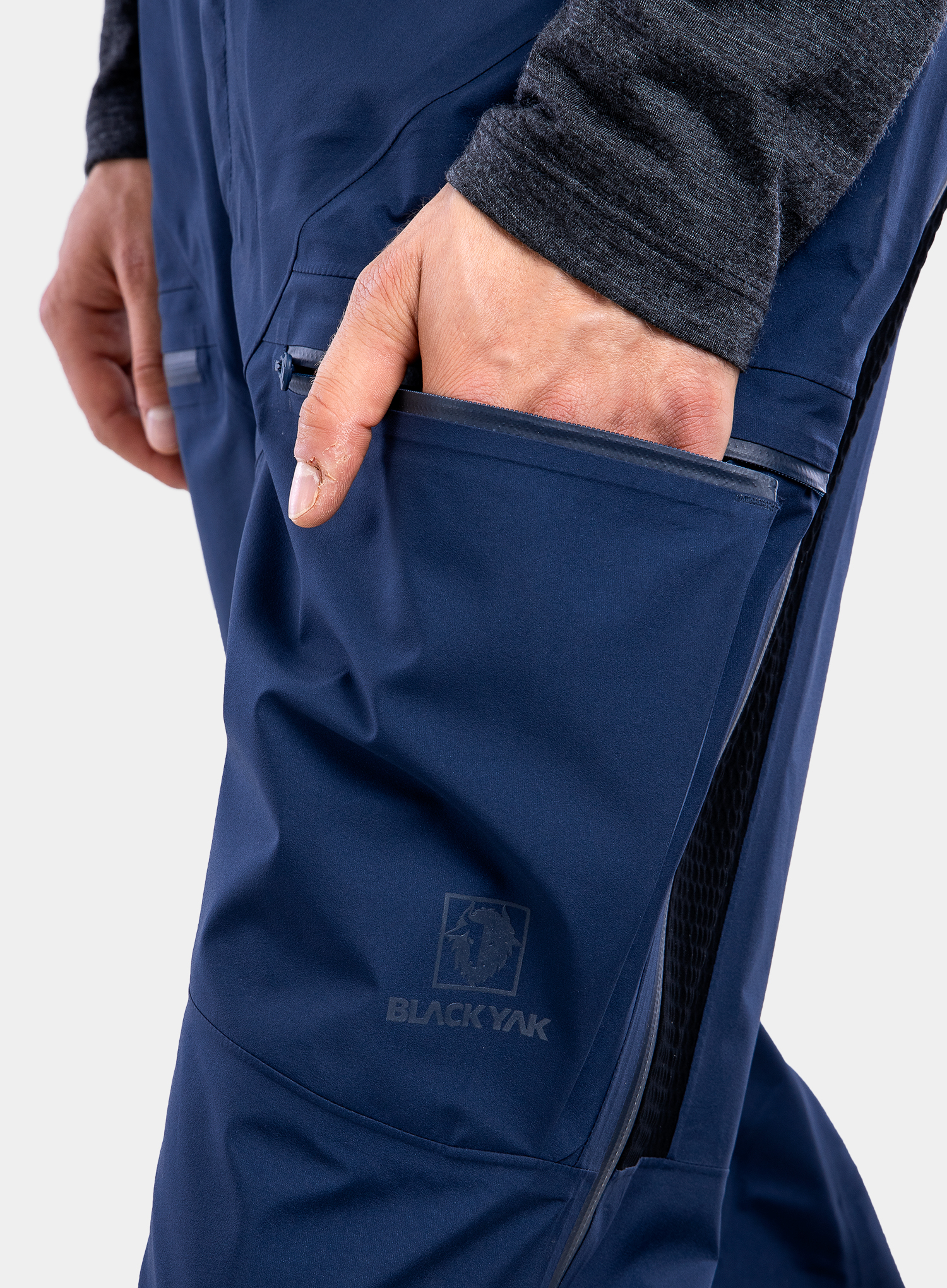 Spodnie GORE-TEX BlackYak Brangus Pants - dress blues - zdjęcie nr. 9