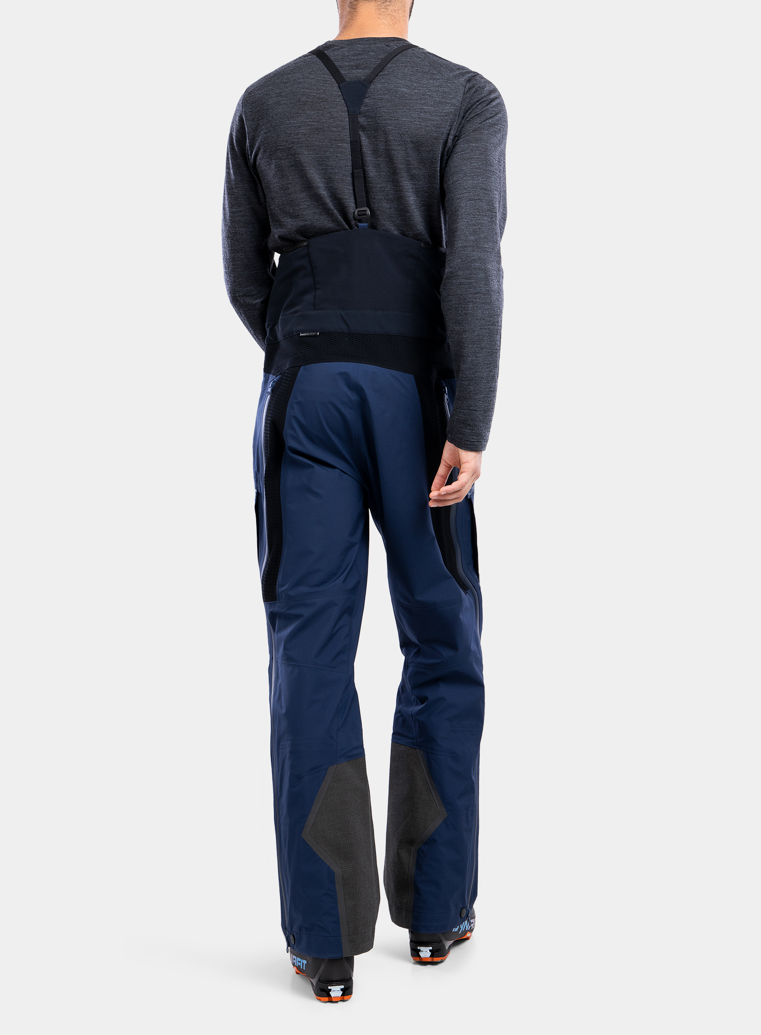 Spodnie GORE-TEX BlackYak Brangus Pants - dress blues - zdjęcie nr. 2
