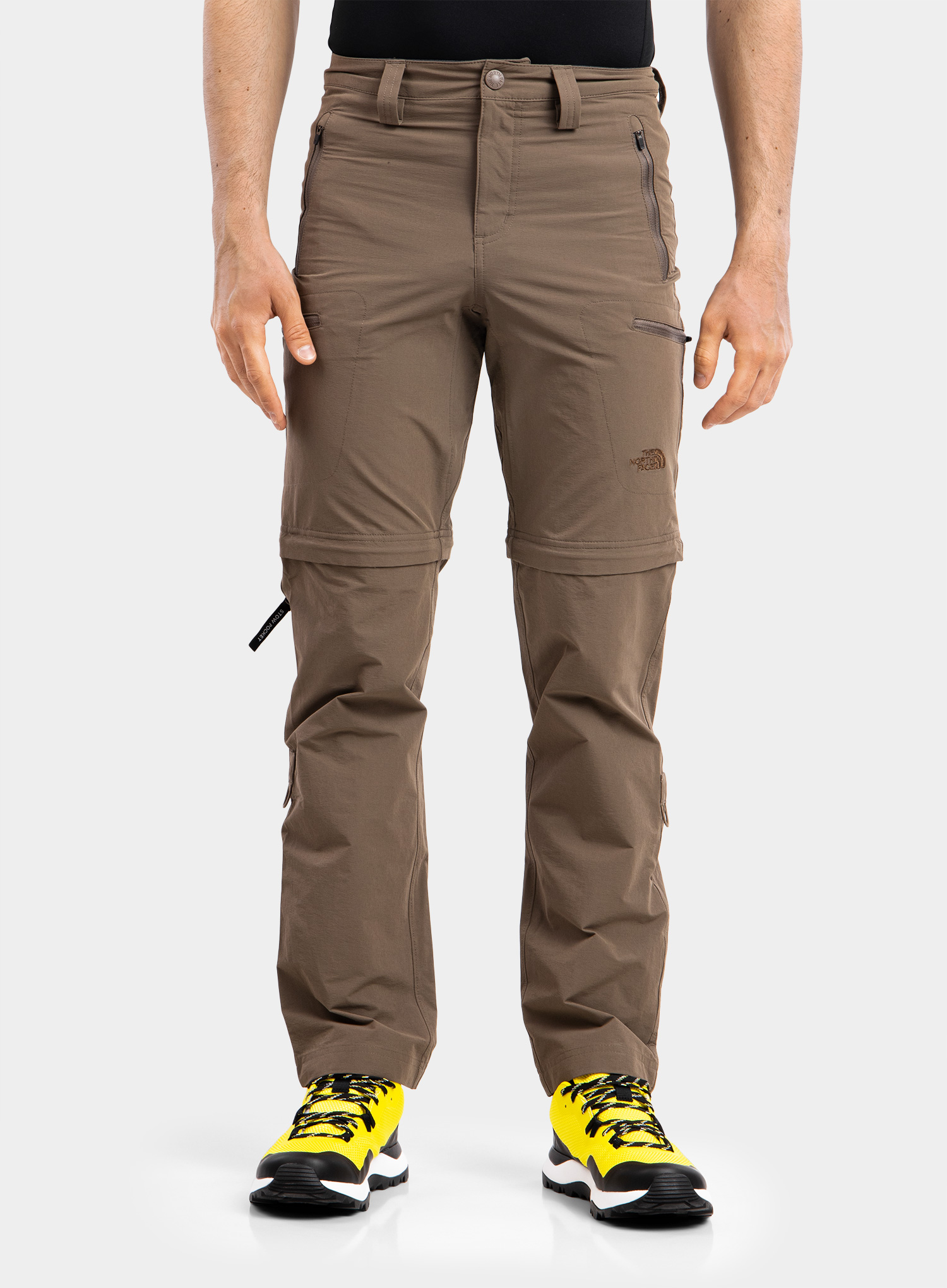 The North Face Exploration Convertible Pant - weimaraner brown - zdjęcie nr. 1
