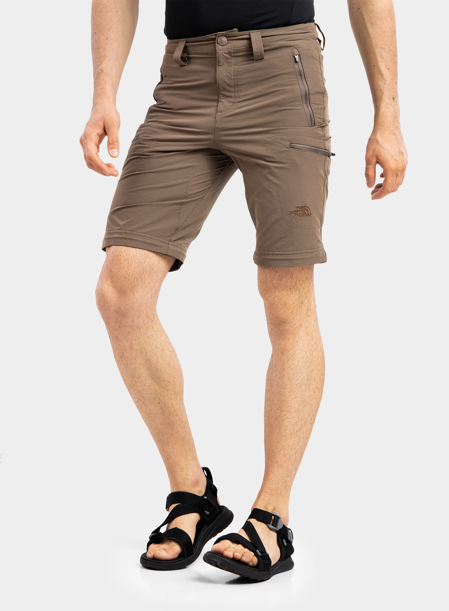 The North Face Exploration Convertible Pant - weimaraner brown - zdjęcie nr. 2