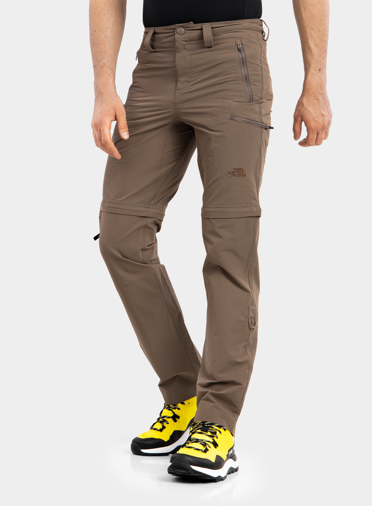 The North Face Exploration Convertible Pant - weimaraner brown - zdjęcie nr. 3