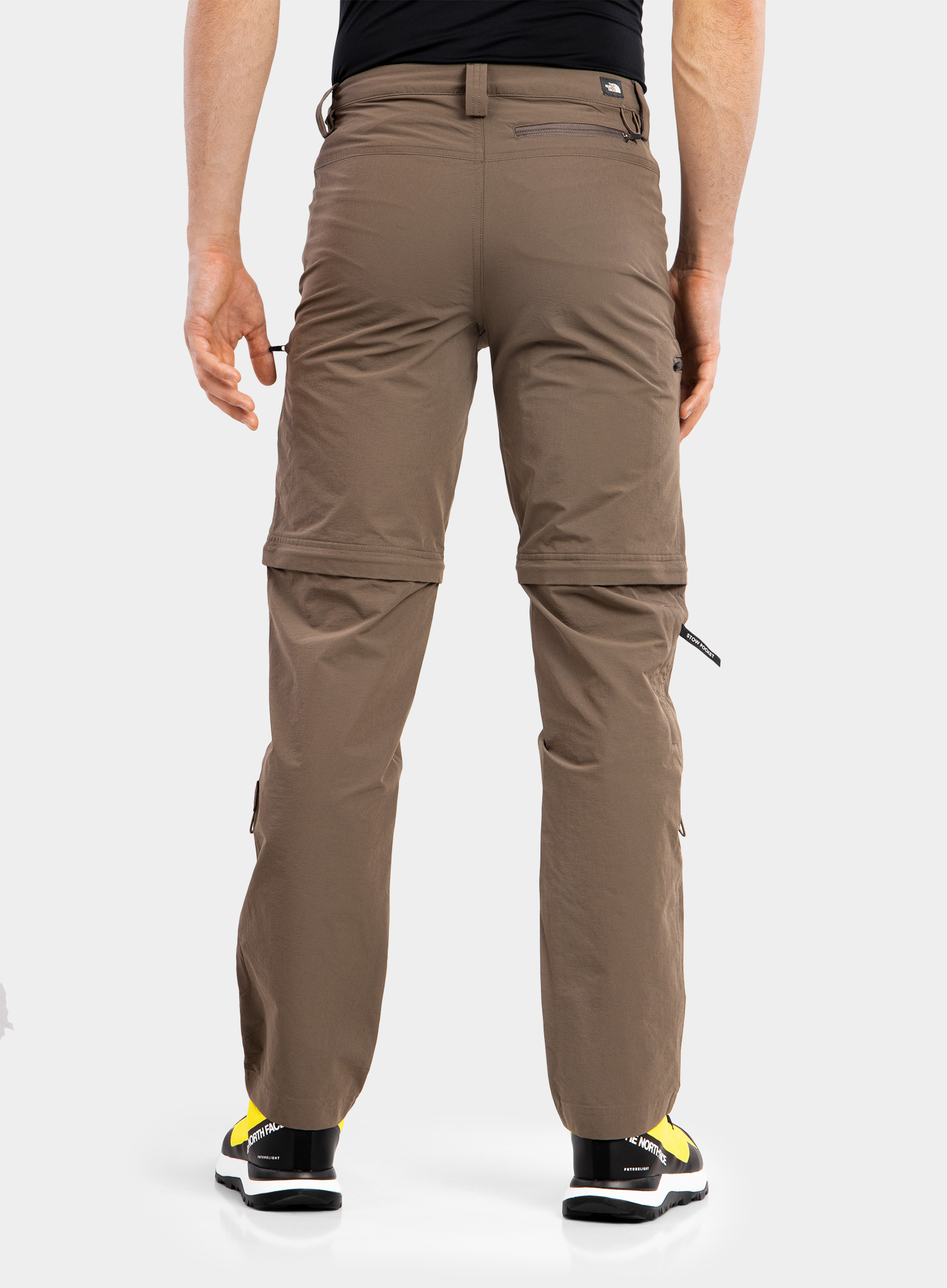The North Face Exploration Convertible Pant - weimaraner brown - zdjęcie nr. 4