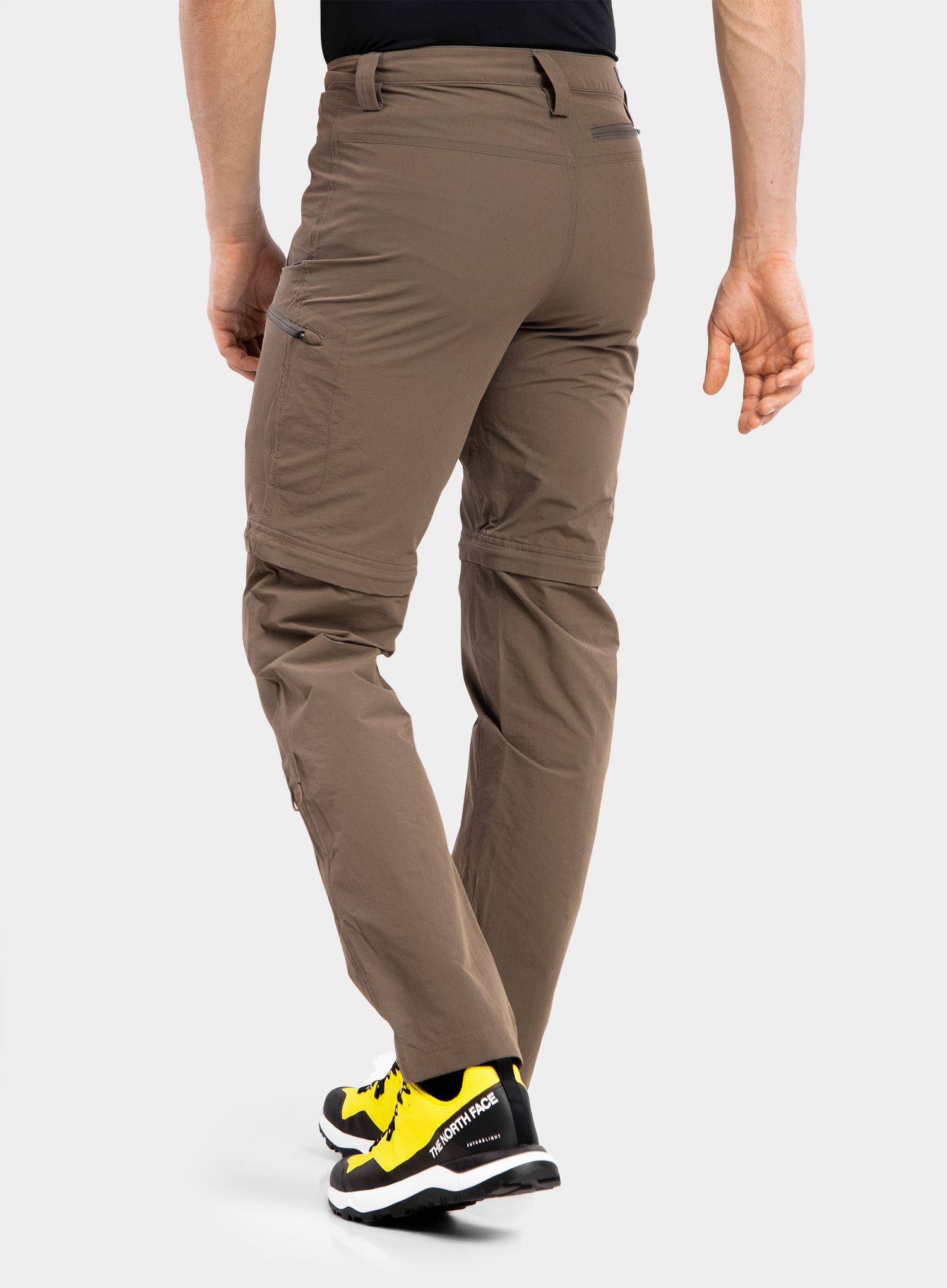The North Face Exploration Convertible Pant - weimaraner brown - zdjęcie nr. 5