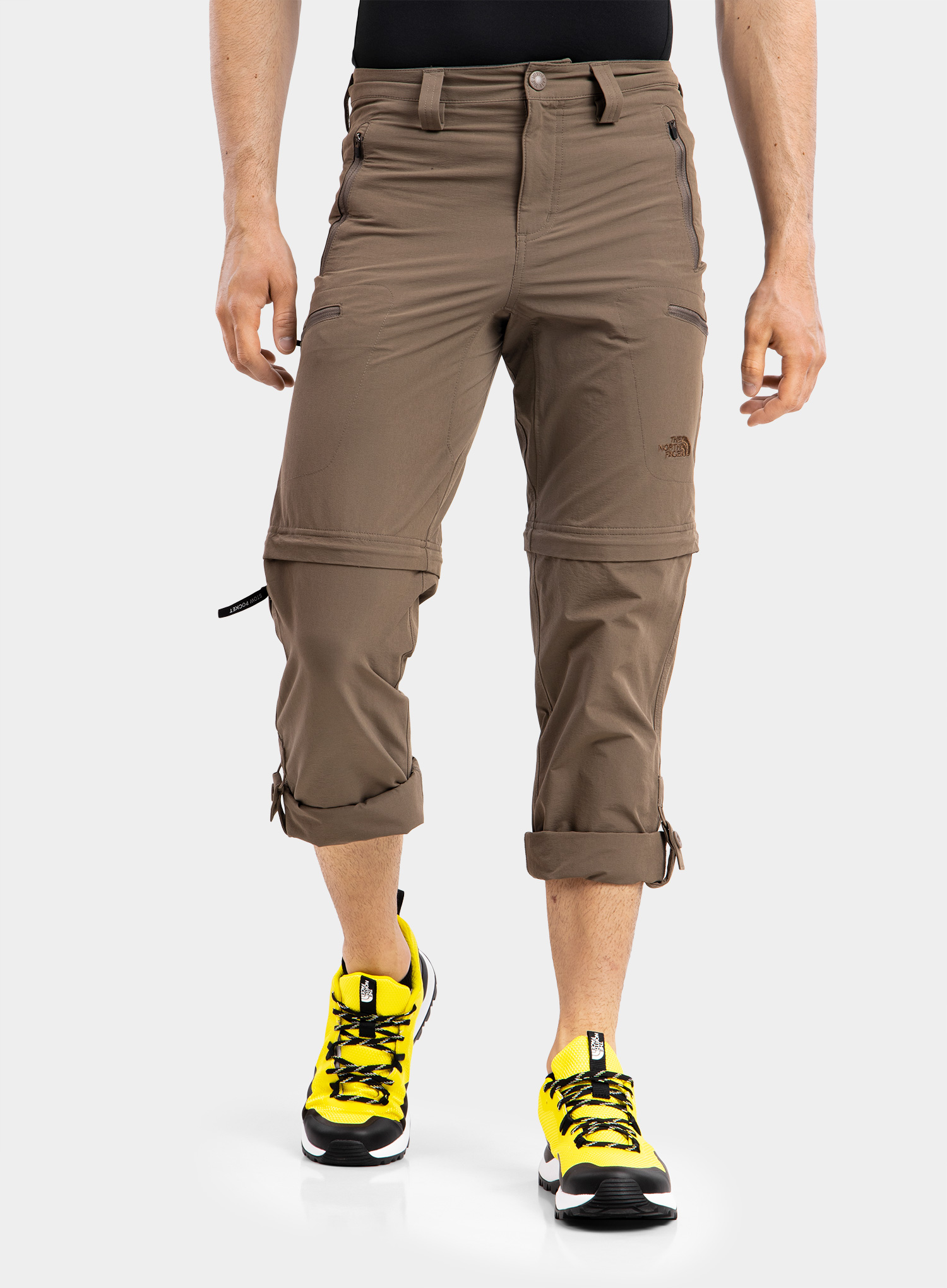 The North Face Exploration Convertible Pant - weimaraner brown - zdjęcie nr. 6