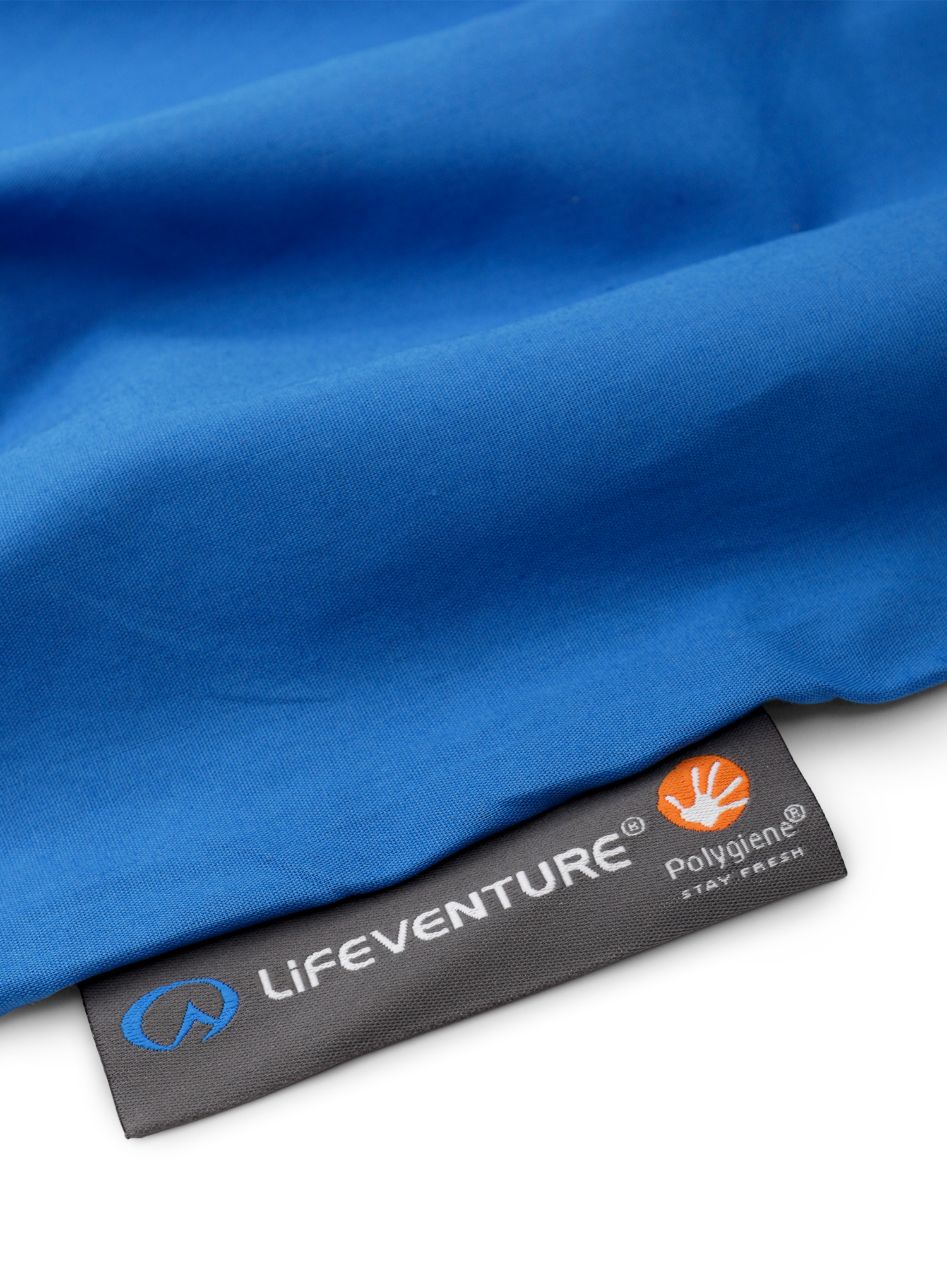 Wkładka Lifeventure Cotton Sleeping Bag Liner Rectangular - blue - zdjęcie nr. 4