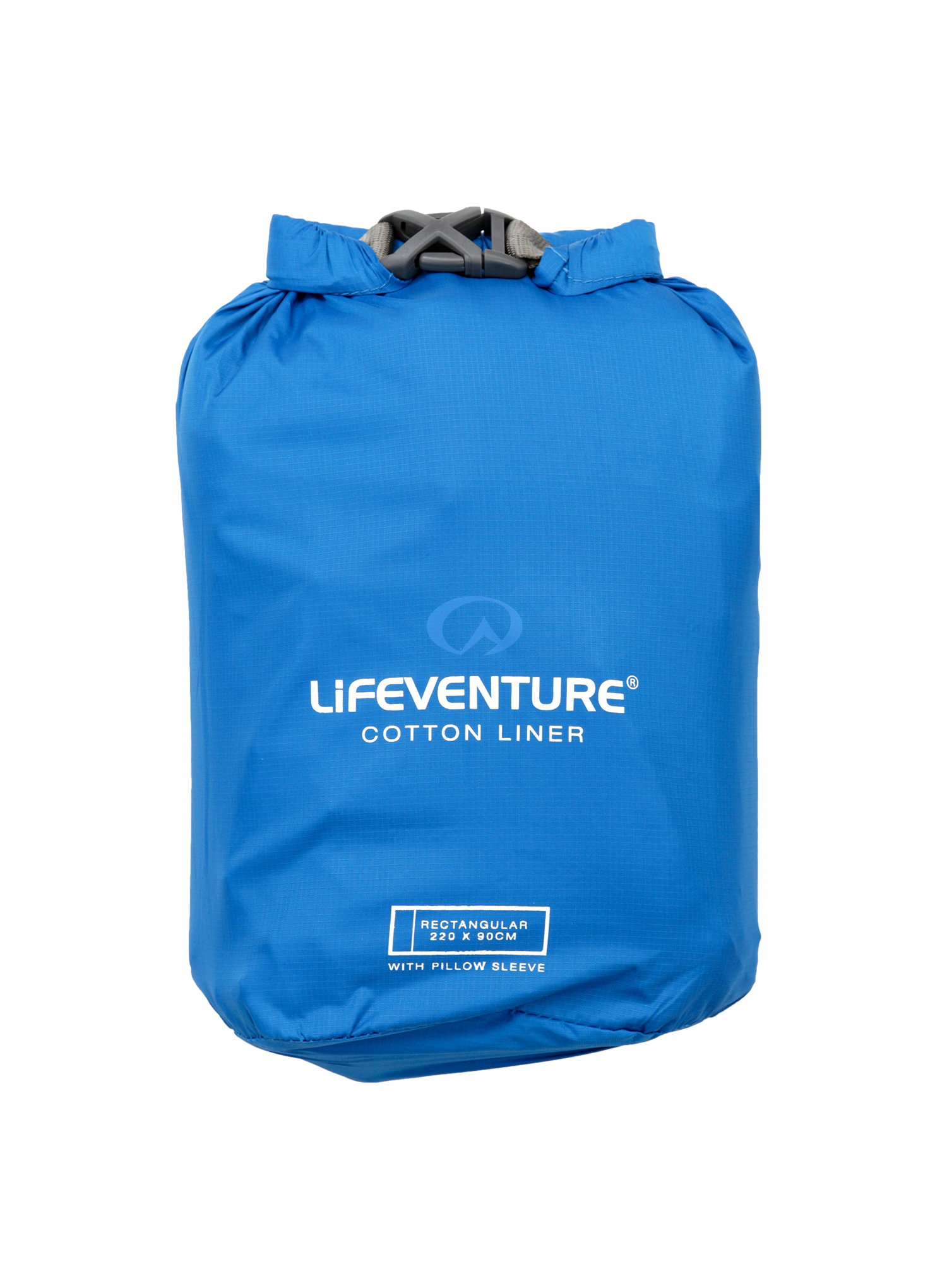 Wkładka Lifeventure Cotton Sleeping Bag Liner Rectangular - blue - zdjęcie nr. 5